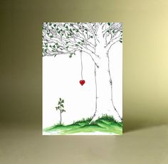 Personalized The Mother Tree with Seedling by SilverGrottoDesigns