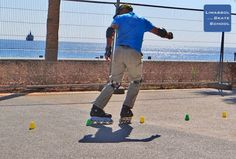 Doesn't this look like fun? #inlineskating #Limassol #Cyprus