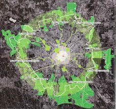 raggi verdi | public green | milan |urban planning