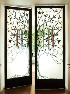 Doors by #CCarts Shawn Lovell - First congregational Church of San Francisco sanctuary doors, 2008