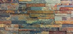 TruStone split-face quartzite slate look tile in Forest Brown http://thediymommy.com/building-our-fireplace-installing-the-slate-split-face-tile-our-diy-house/