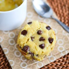 Single-Serving GF Chocolate Chip Mug Cookie (Could I substitute coconut flour or almond flour for GF flour? I haven't found a GF flour I like.)