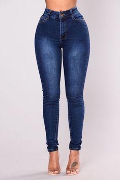 e1cda2668c8 Fashion Nova High Waisted Dark Wash Jeans BRAND NEW  fashion  clothing   shoes