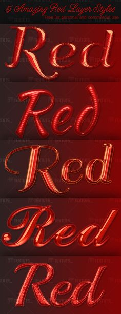 5-Amazing-Red-Layer-Styles-textuts.com