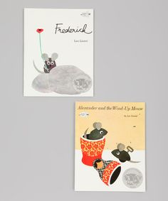 Take a look at this Alexander and the Wind-Up Mouse & Frederick Paperback Set by Random House on #zulily today!