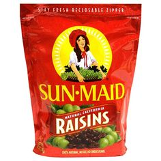 Raisins  Cure for: High blood pressure  Sixty raisins—about a handful—contain 1 g of fiber and 212 mg of potassium, both recommended in the Dietary Approaches to Stop Hypertension (DASH) diet. Numerous studies show that polyphenols in grape-derived foods such as raisins, wine, and juice are effective in maintaining cardiovascular health, including bringing down blood pressure.        Read more: http://www.prevention.com/food/food-remedies/16-simple-healing-foods/2-raisins#ixzz2Ip3qFrGt