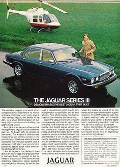 1981 Jaguar XJ6 Series III - Classic Vintage Advertisement Ad A98