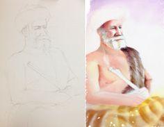 Project 4, Female, Portrait, Life, Art, Art Background, Headshot Photography, Kunst, Portrait Paintings