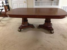 Thomasville Ernest Hemingway Victoria Double Pedestal Dining Table 36722-772
