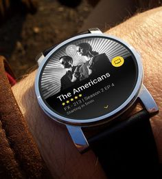 Android Wear for TV Show #wearable #smart #watch #mobile #ui #ux #design via http://pinterest.com/alextcsung/