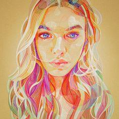 She comes in colors, Lui Ferreyra