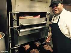 Chef David at Doe's Eat Place is famous for great cooking! Steaks, Mississippi, David, Eat, Cooking, Places, Beef Steaks, Kitchen, Brewing