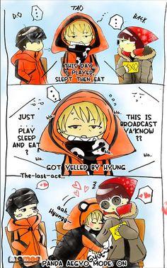 EXO Showtime Ep. 06. Dont do aegyo, Tao.. LOL!