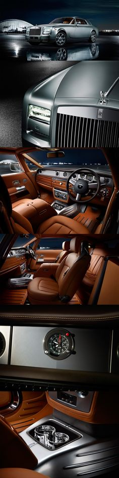 Rolls Royce limited edition Phantom Coupé Aviator Collection model