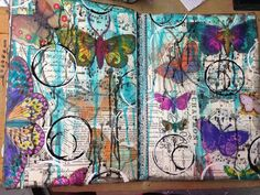 Inky Obsessions : My FAVORITE Art Journal -- Dylusions!