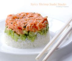 The Eagles are going to the Super Bowl! That was a fantastic game! Shrimp Sushi, Spicy Shrimp, Fresh Rolls, Fish Recipes, Eagles, Super Bowl, Food To Make, Main Dishes, Fish Food