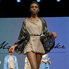 Maureen Clarke Batik's Secrets on the First Catwalk of the BCN Ethical Fashion Fest.