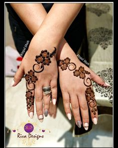 For mehndi order bookings and classes contact Modern Henna Designs, Indian Henna Designs, Floral Henna Designs, Henna Designs Feet, Finger Henna Designs, Mehndi Designs For Beginners, Mehndi Designs For Girls, Mehndi Designs For Fingers, Beautiful Henna Designs