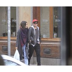 """@joshismyrock's photo: """"NEW: Josh with his girlfriend, Claudia Traisac in Madrid, Spain last week #8 - I have been waiting for these pictures for a long time and I have finally seen them so I'm gonna go and admire their cuteness some more as the spam is now over ok bye -  Tags {#JoshHutcherson #JHutch #Hutcher #ClaudiaTraisac #Closh}"""""""