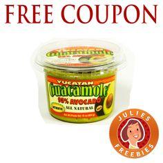 Free Yucatan Guacamole Coupon