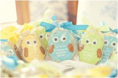 This past weekend my Mom threw me the most beautiful baby shower! It was a teal and yellow owl fantasy. Owl Cookies, Baby Cookies, Baby Shower Cookies, Beautiful Baby Shower, Forest Friends, Cute Owl, Baby Party, Owls, Parenting