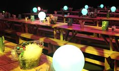 Table Art's LED centrepieces on long tables at Manchester Central for the Fresh Group's event. Led Centerpieces, Centrepieces, Manchester Central, Moon Table, Light Tunnel, Dmx Lighting, Long Tables, Table Centers, Recent Events