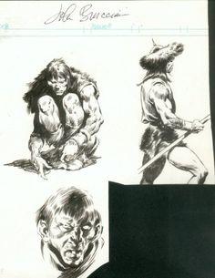 Art_of_John_Buscema_1978_sketches