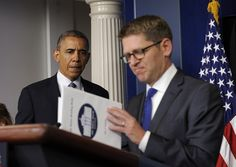 Jay Carney thanks press at his final White House briefing - Washington Times