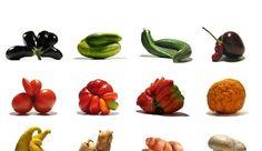 Légumes aux formes originales