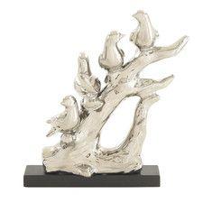 Bird on Tree Figurine