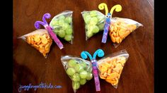 Cute way to get kids to eat veggies in their lunches!