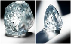 """'The Petra 122.52 Carat Blue Diamond Rough' - """"To the delight of diamond enthusiasts and collectors, Reuters reported that an """"exceptional"""" blue stone was recently found at the Cullinan mine in South Africa – the source of some of the most famous diamonds in history. This isn't just any blue gem, however – it weighs an unbelievable122.52 carats.""""  As said in the statement by Petra Diamonds, """"The rarity of a blue diamond of this magnitude sets it apart as a truly significant find."""""""