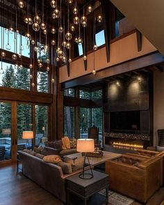 What are your thoughts about this room? How do you feel about the lights? #lighting #edisonbulbs #stilltrending #floortoceilingwindows #checkoutthat #view #openspaces #thesteingroup #wesellsandiego #callthesteingroup