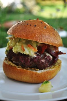 The Pennsylvania Dutch Burger recipe from Food52
