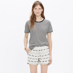 Pull-On Shorts in Summer Jacquard : our current favorites | Madewell