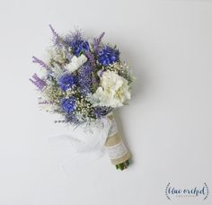 Wildflower Bouquet Lavender Bouquet Bridal Bouquet Rustic