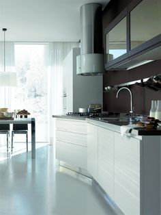 7 Best Stosa City images | Loft kitchen, Kitchen design, Kitchens