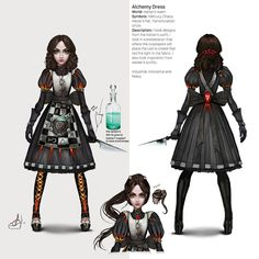 Alice In Wonderland Aesthetic, Dark Alice In Wonderland, Alice Cosplay, Alice Liddell, Alice Madness Returns, Cute Art Styles, Were All Mad Here, Video Game Art, Anime Outfits