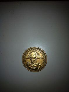 Napoléon Bonaparte 1er Consul  Eine Gedenk Münze / medalie