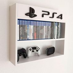 Shelves for games, Xbox, Nintendo - # for . - Shelves for games, Xbox, Nintendo – – # - Nerd Room, Gamer Room, Sala Nerd, Small Game Rooms, Teen Game Rooms, Boys Game Room, Game Room Basement, Video Game Rooms, Video Games