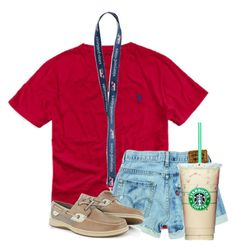 """""""Tomorrow is the first day of school"""" by flroasburn on Polyvore featuring Ralph Lauren and Sperry"""