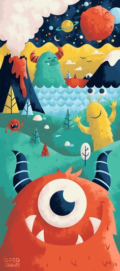 Here to There Art Print by Greg Abbott. Would loom amazing as a cake!