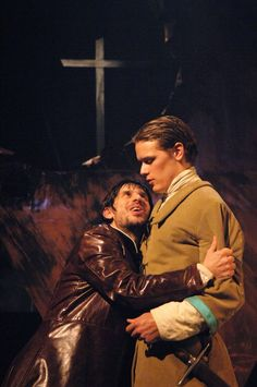 Sam Heughan as Guildenstern in Hamlet Citizens Theater, Glasgow 2007