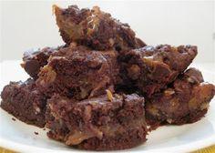 Caramel brownie recipe with german chocolate cake mix