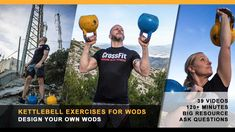 Kettlebell Exercises to Include in Your WODs (39 videos, 120+ minutes)