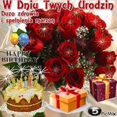 5418048_c715d.gif (500×500) Happy Birthday Pictures, Happy Birthday Messages, Birthday Wishes, Birthday Cake, Christmas Wreaths, Merry Christmas, Special Quotes, Beautiful Roses, 4th Of July Wreath