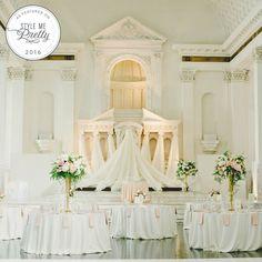 A romantic garden-inspired wedding featured on @stylemepretty. (Venue: @redbirdla | @vibianaevents / Food & Beverage: @nealfraser @tobinshea / Design & Planning: @modernlaweddings / Floral: @lotusandlilyfloral / Photography: @myonelove / Dress: @lovelybride / DJ: @jack_tmmpro /Video: @whiteroseproduction)