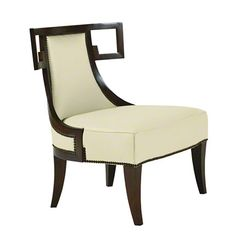 Baker Furniture : Greek Lounge Chair - 6341 : Thomas Pheasant : Browse Products