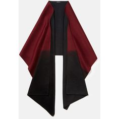 Lafayette 148 New York Luxe Cashmere Dip-Dye Shawl ($698) ❤ liked on Polyvore featuring accessories, scarves, claret multi, shawl scarves, cashmere shawl, cashmere scarves and lafayette 148 new york