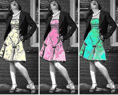 ##girl in dress  green dresses #2dayslook #green style #greenfashion  www.2dayslook.com